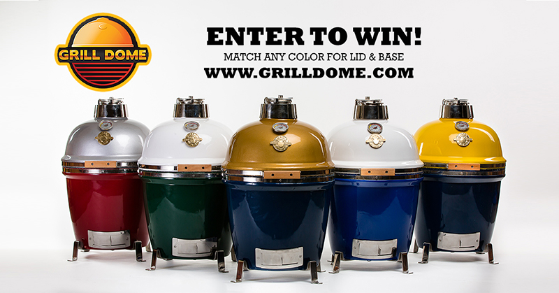 Grab and Go Grill Dome